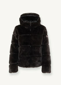 Colmar FAUX FUR JACKET WITH ECOLOGICAL HOOD