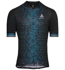 Odlo ZEROWEIGHT Full-Zip Short-Sleeve Cycling Jersey
