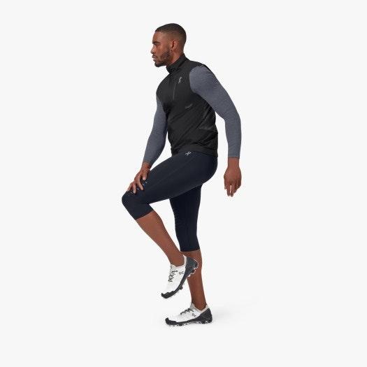 Pánske bežecké elastické nohavice ON 3/4 Trail