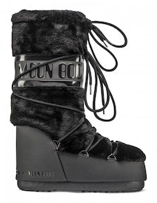 MOON BOOT ICON FAUX FUR