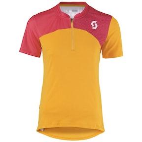 SCOTT  Shirt W's Trail Flow Q-Zip s/sl zin or/te pi