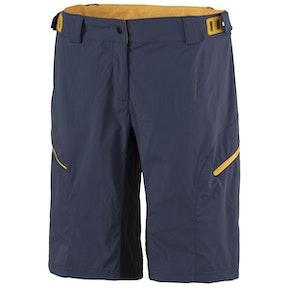 SCOTT  Shorts W's Trail Flow ls/fit w/pad bl nig/zi or