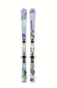 Booabo set juniorské lyže + vázání