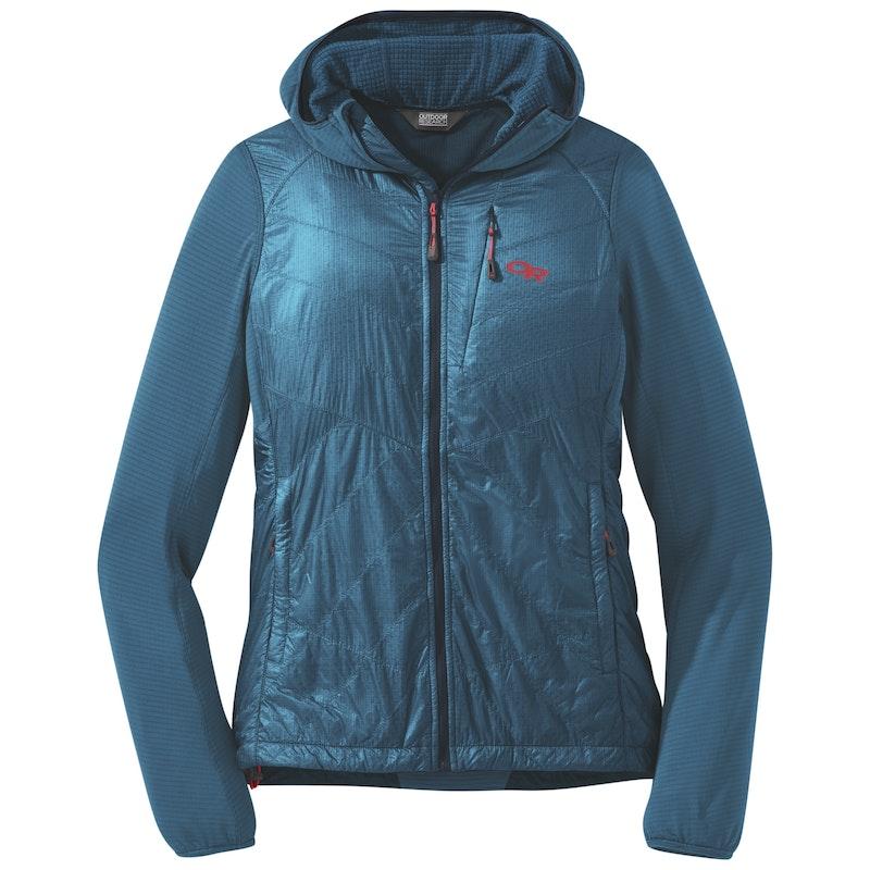 Dámska bunda OR Women's Vigor Hybrid Hooded Jacket