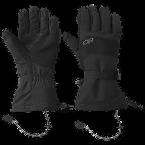 OR Men's Highcamp Gloves ochre/carob