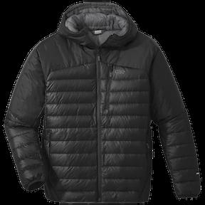 Pánská péřová bunda s kapucí OR Helium