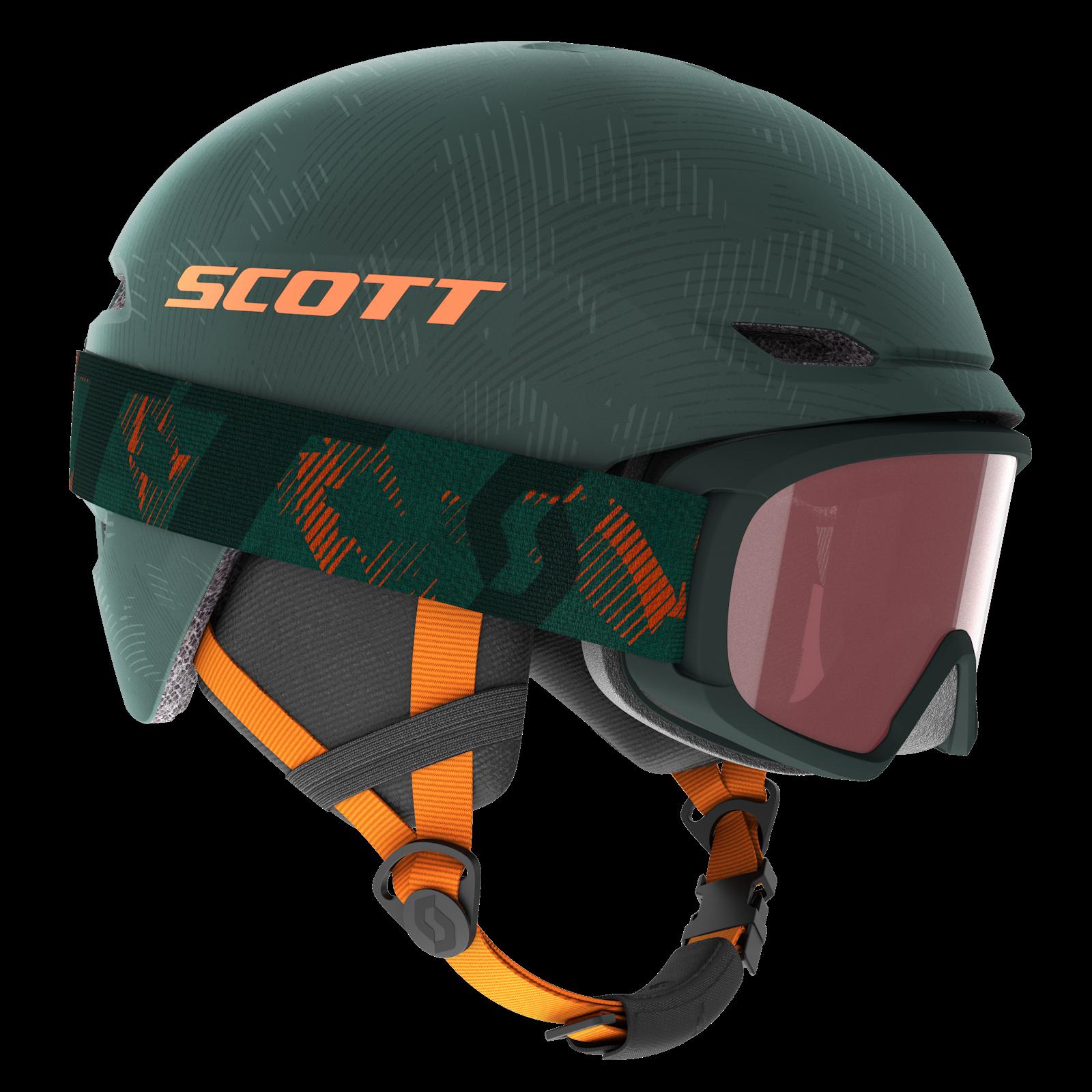 SCOTT Helmet Keeper 2 + Goggle Witty