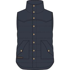 Pánská vesta POWDERHORN THE ORIGINAL LT