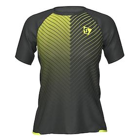 Scott Shirt W's RC RUN s/sl black/yellow