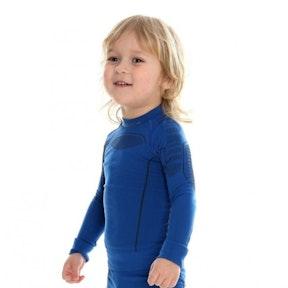 Brubeck Active Wool Jr shirt long sleeve