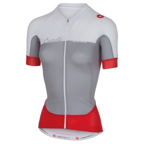 Castelli Aero Race grey/white/red