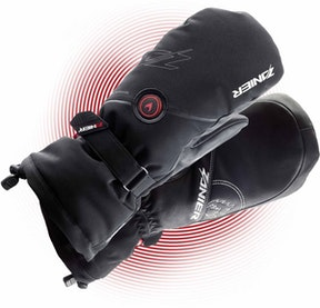 Zanier Gloves Hot.GTX 2.0 black S