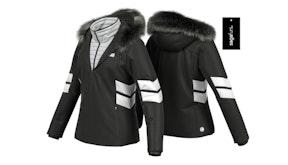 Dámská lyžařská bunda Colmar Granrisa s kapucí