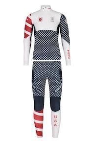 Maloja CalgaryM. Suit USMerch 2018 Race Suit US
