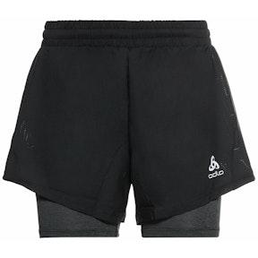 Odlo dámske bežecké šortky 2-in-1 Shorts RUN EASY 5 INCH