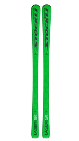 Stöckli Laser SX + vázání Vist V614 green